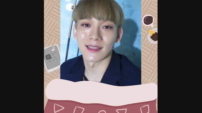 [VIDEO]181215 Chen @ EXO Twitter Update