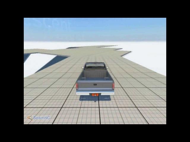 Beam NG DRIVE Crash Test(Краш тесты)№3