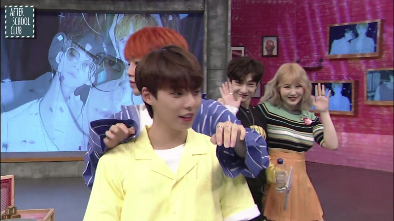 [AFTER SCHOOL CLUB] WOO JIN YOUNG X KIM HYUN SOO After the live show (우진영 X 김현수 생방 후 모습) _ HOT!