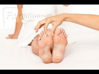 Yoga Massage Mature Feet