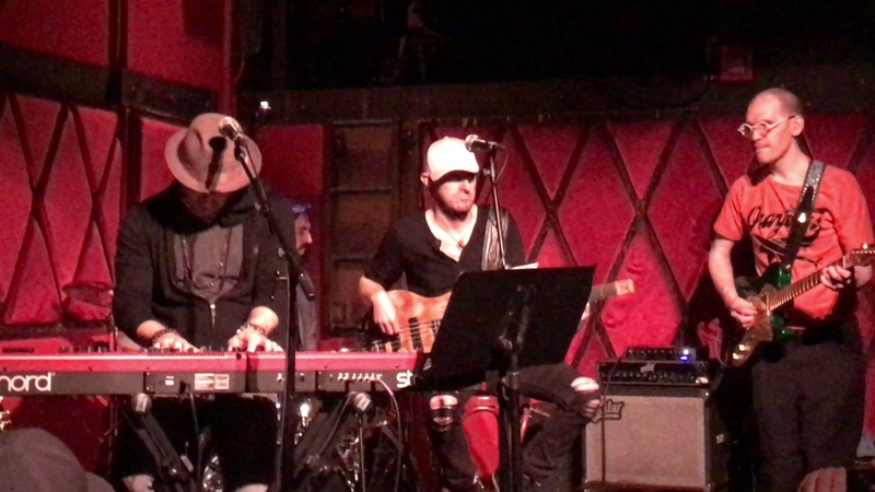 Matt Cusson singing his new single Next to you at Rockwood Music Hall May 10,th 2017