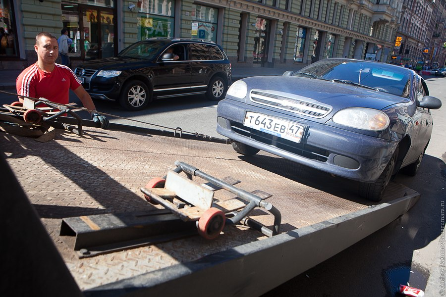 штраф за парковку под знаком 2012