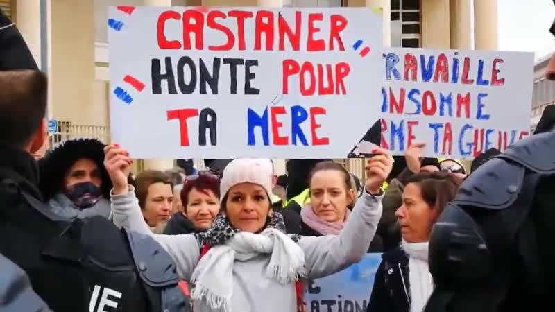 Castaner, honte pour ta mère ! Acte10 GiletsJaunes