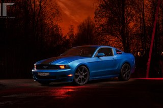 мой Mustang