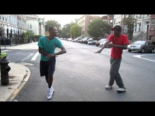 STORYBOARD AND ASHA FLASHA GOING SNOTTY ON HAMILTON(ACAPELLA FREESTYLE DANCE)
