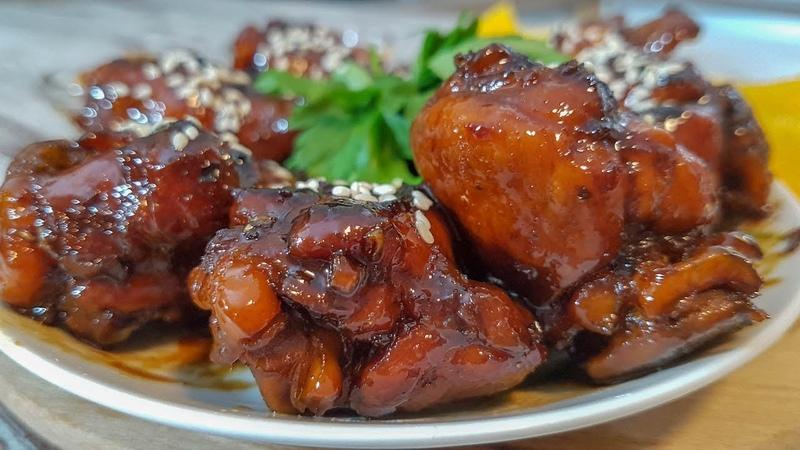 Куриные Крылышки в медовом Соусе. Позавидует сам Джейми Оливер
