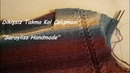 Örgüde Dikişsiz Takma Kol Çalışması -Knitting Seamless sleeve
