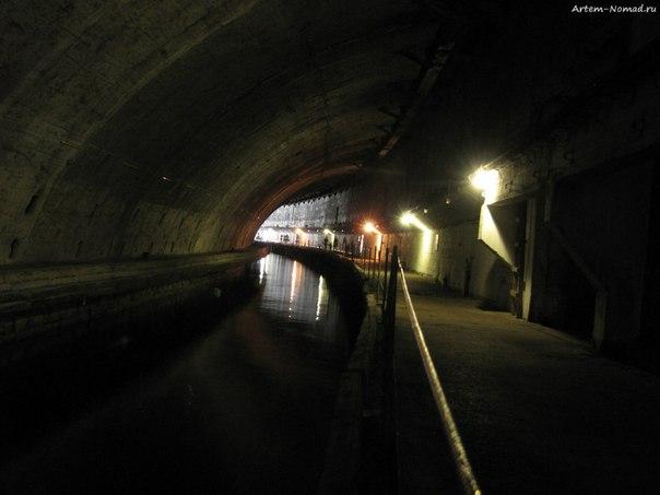 Подземное укрытие подлодок