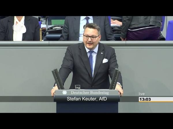 Stefan Keuter (AfD). Unter Merkel hat es nie eine schwarze Null gegeben.10.05.2019