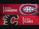 NHL Regular Season Season 2018-19 Montréal Canadiens-Calgary Flames