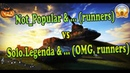 Not Popular runners vs OMG runners Tanki Online Zone tandem 18