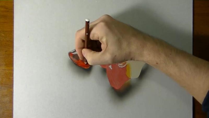 Бутылки Колы Gummies в 3D рисунке