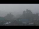 летний теплый дождь