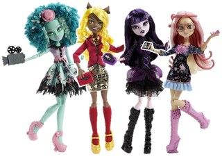 куклу монстр хай купить дёшево