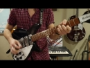 The Beatles- You Cant Do That Lead and Rhythm Guitar Cover! On Rickenbacker 325c64 and 360-12c63