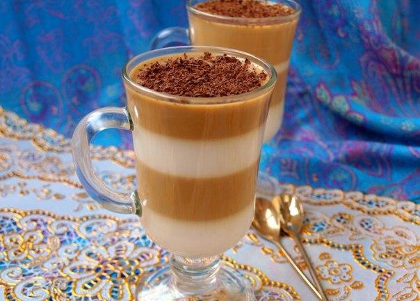 Молочно-кофейное желе
