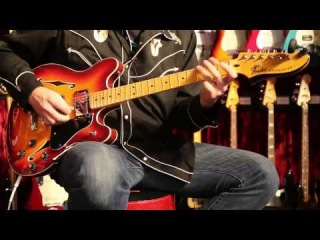 NAMM 2014  •  Fender Starcaster Played by Greg Koch • Wildwood Guitars