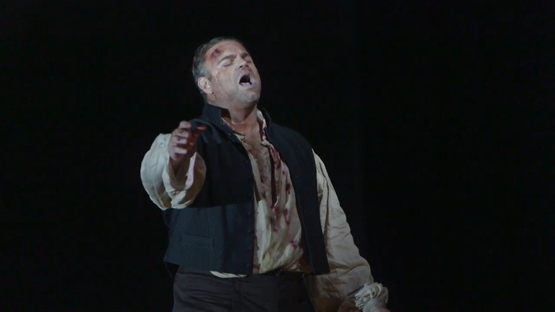 """Tosca """"E lucevan le stelle"""" Джозеф Каллейя с душераздирающей арией Каварадосси!"""