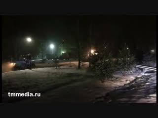 Долгожданная встреча: горячий асфальт и снег