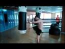 Отработка ударов ногами. Группа тайского бокса. ЦЕ Скорпион