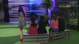 Harry Amelia wearing Catriona Stewart Latex on Big Brother