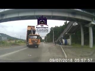 ДТП на трассе Красноярск-Дивногорск