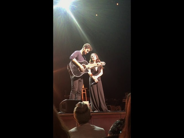 Lmdctour To Make You Feel My Love glee @darrencriss @leamichele NJPac 6/9/18 Encore