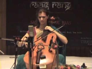 """Saskia Rao-de Haas (Indian Cello) """"Miyan ki Malhar"""" - Part 1"""