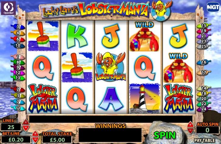 Игровые автоматы Lobstermania от IGT - Играть в бесплатные онлайн игры
