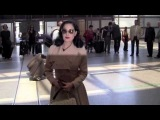 WATCH: Fashion Model Dita Von Teese Spotted at Los Angeles Airport