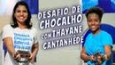 Desafio de Chocalho com Thayane