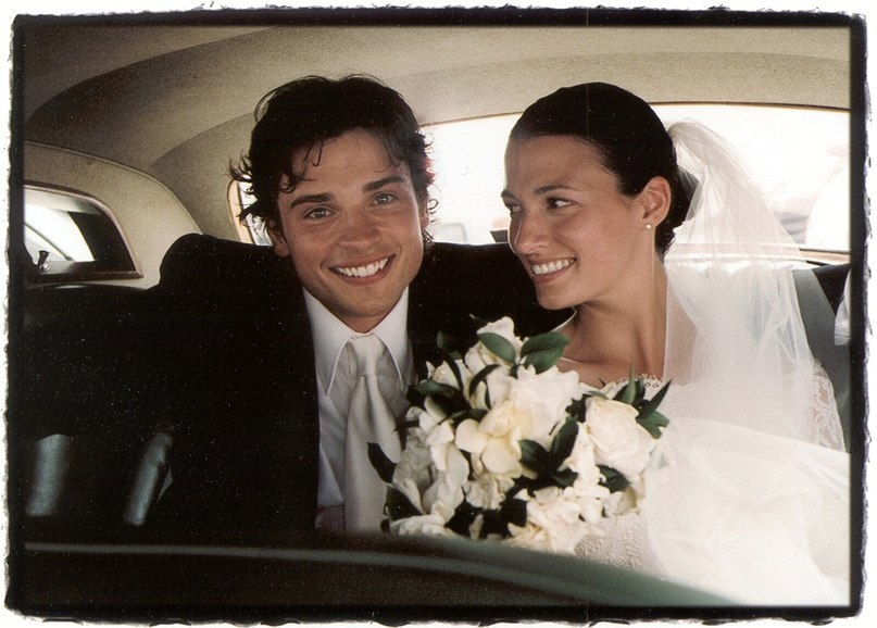 tom welling wedding pictures - 807×578