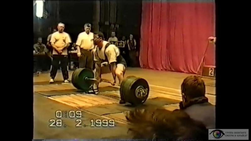 Андрей Тарасенко. Сюжет про шестикратного чемпиона мира по пауэрлифтингу 2001 год