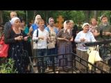 Лития на ЖЯ у могилки Миши Голинка