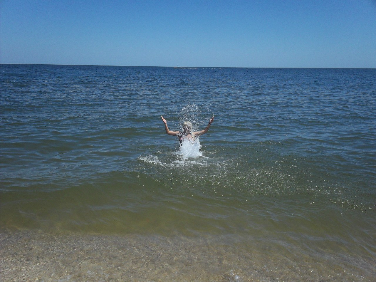 Азовское море. Бердянск. 2012 г. 7ZMCnU1NFV0
