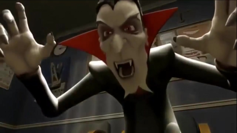 Дракула у стоматолога!