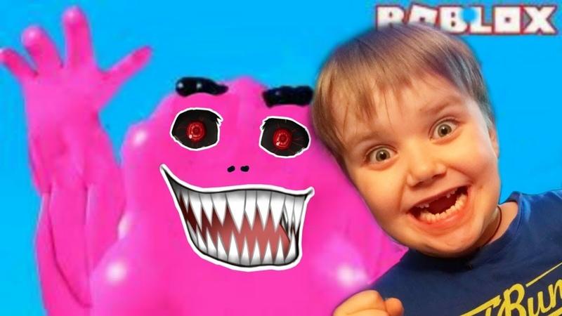 Побег от злой СЛАДОСТИ в ROBLOX Funny games для Детей Топ прохождение Мульт игры Онлайн игра