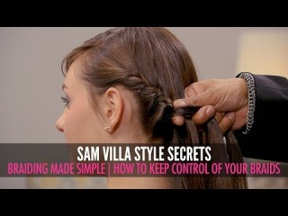 Braiding Made Simple | How To Keep Control Of Your Braids