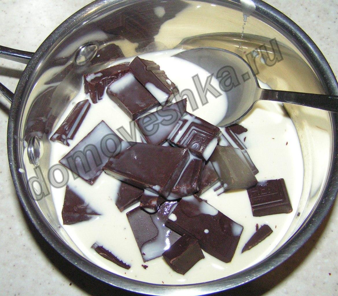 шоколадно-облепиховый торт