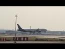 Boeing 777-300ER Aeroflot заходит на посадку в Шереметьево