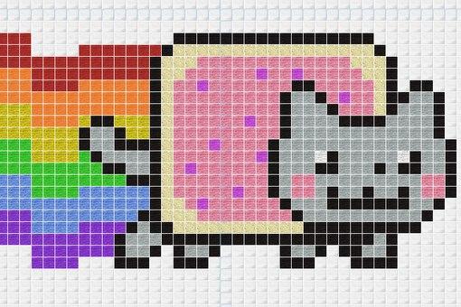 Схемы-пиксель арт!тут всё