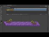 Анимация атаки и ожидания робопса