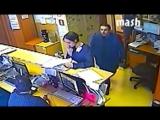 Появилось видео нападения на журналистку