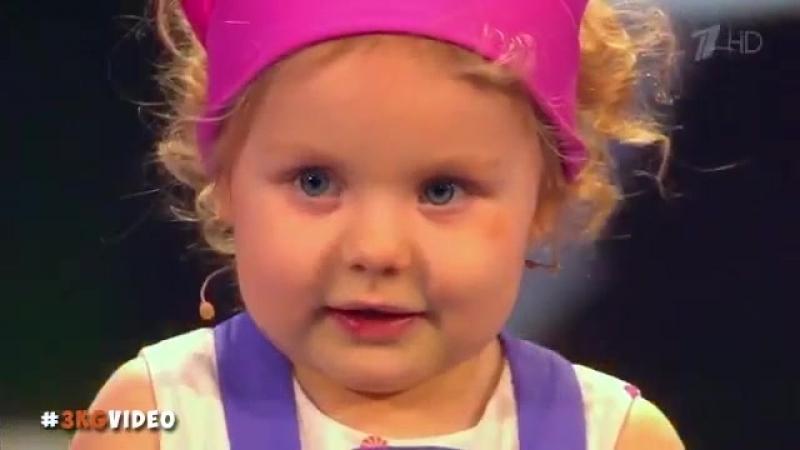 Поваренок Лучшие моменты Полина Симонова 3 года верит в динозавров 090417 Лучше всех online video