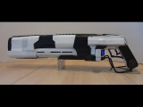 CO2 LaserRifle Prototype Mk I BURNING GLASS, MELTING ICE (Directors Cut)
