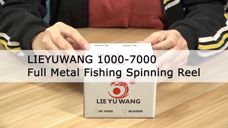 Lieyuwang 13 1bb крутится рыболовная катушка для промысла direit катушка.