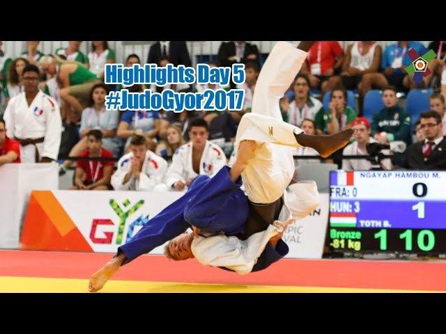 EYOF Györ 2017 Highlights of Teams