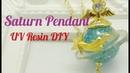 UV Resin DIY Saturn Pendant