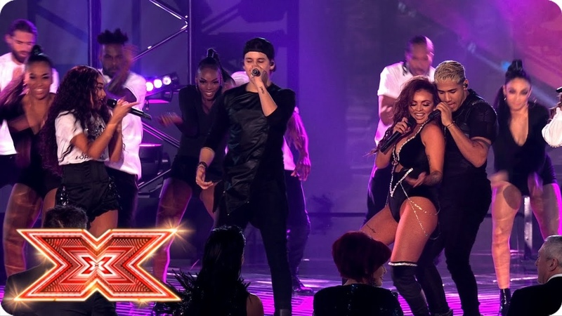 Little Mix bring the Power CNCO to The X Factor Final!   Final   The X Factor 2017