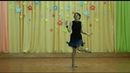 2018 г. - Чарльстон 20-х годов - Солистка образцового коллектива эстрадного танца Визави- Елена Голомонова.